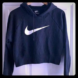 Nike Crop Hoodie - size L